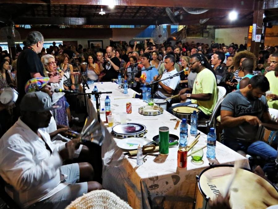 imagem do samba do trabalhador no bairro de Andaraí, Rio de Janeiro