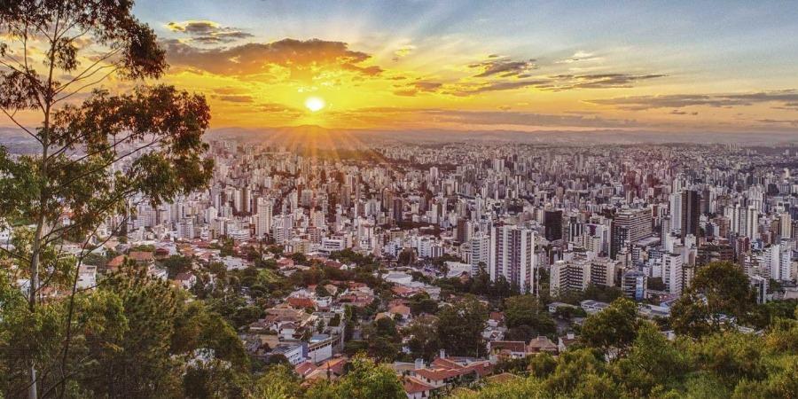 Vista de Belo Horizonte, o principal roteiro gastronomico do brasil