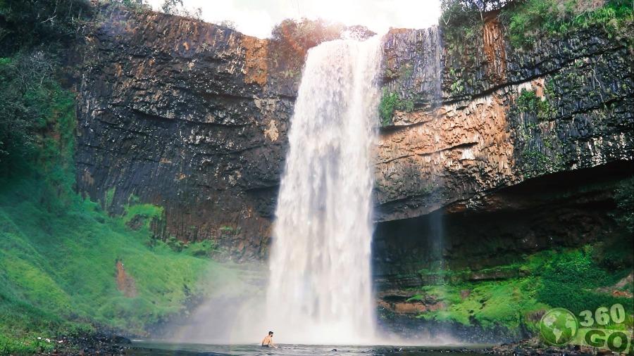 Cachoeira de Araguari, excelente destino para o feriado de 7 de setembro