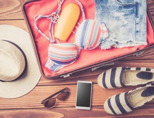 o que levar para praia